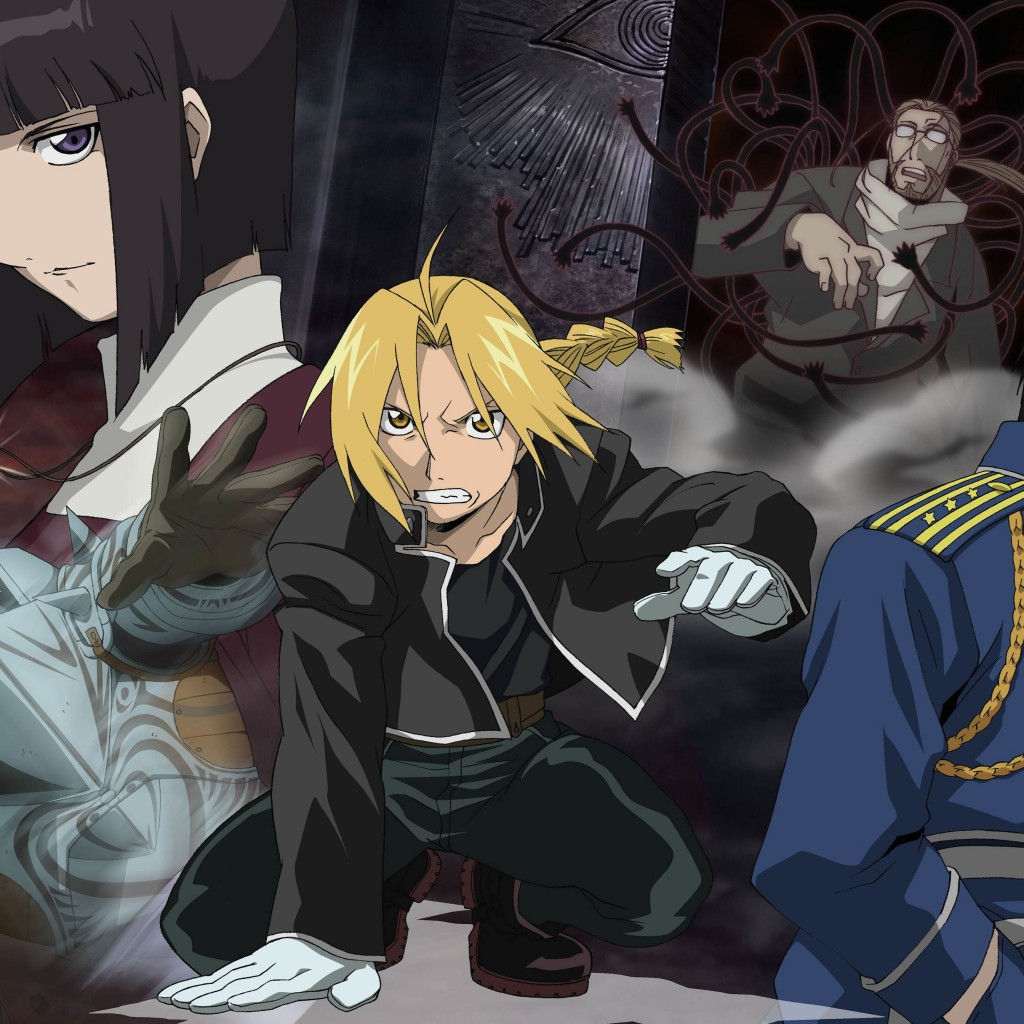 Fullmetal Alchemist Wallpaper for Apple iPad