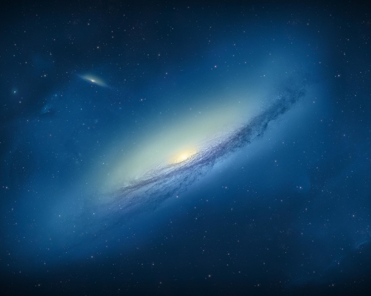 Galaxy NGC 3190 Wallpaper for Desktop 1280x1024