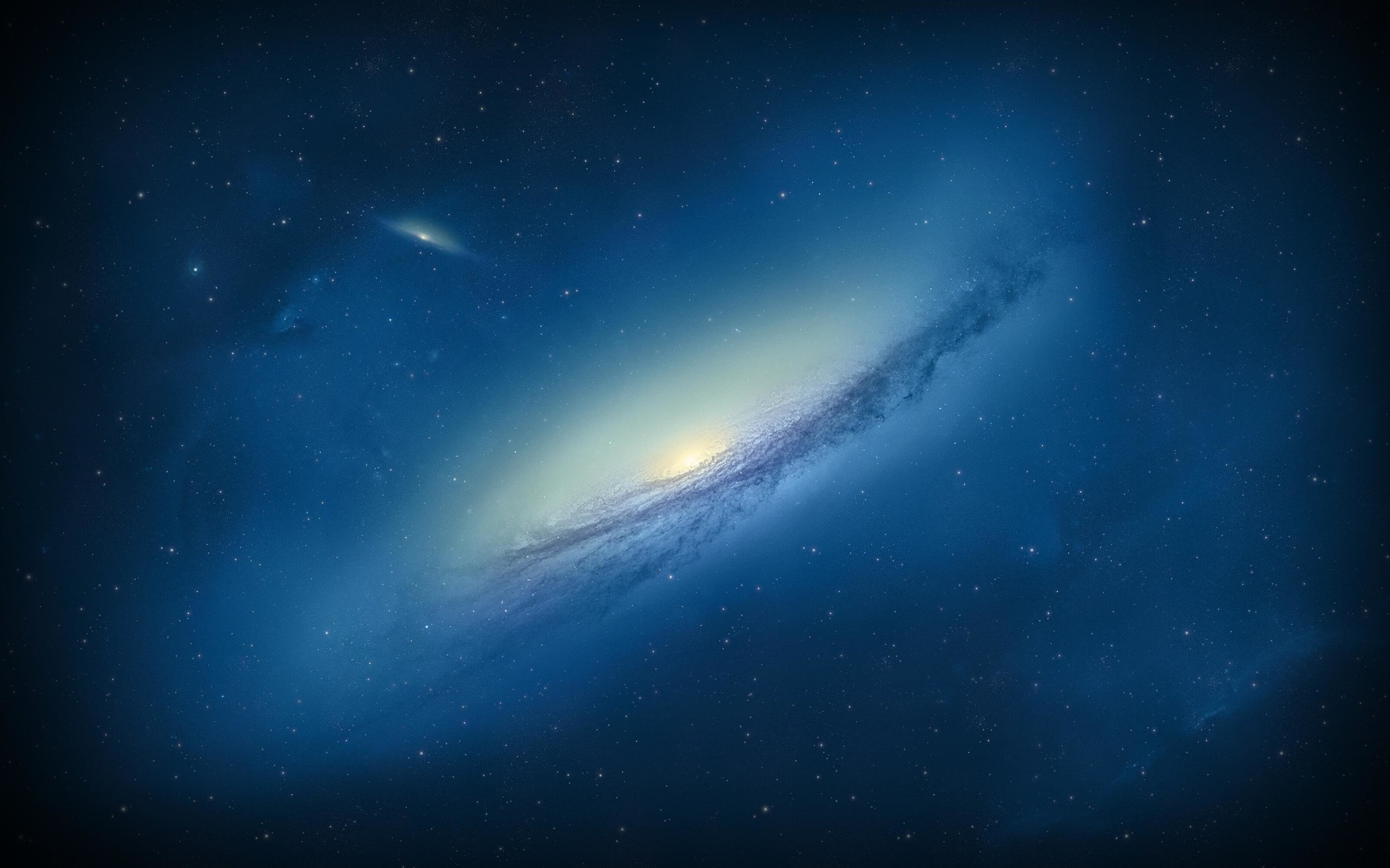 Galaxy NGC 3190 Wallpaper for Desktop 2560x1600