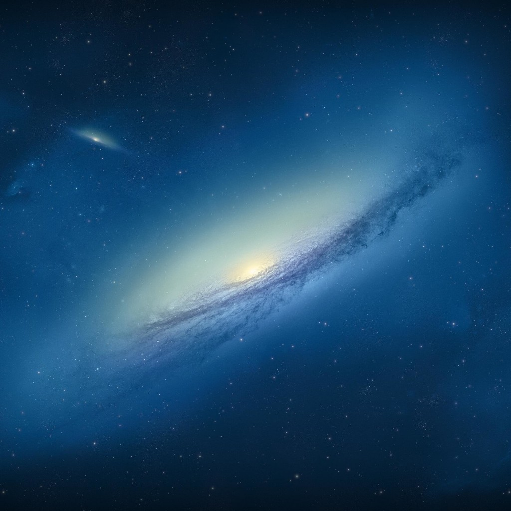 Galaxy NGC 3190 Wallpaper for Apple iPad