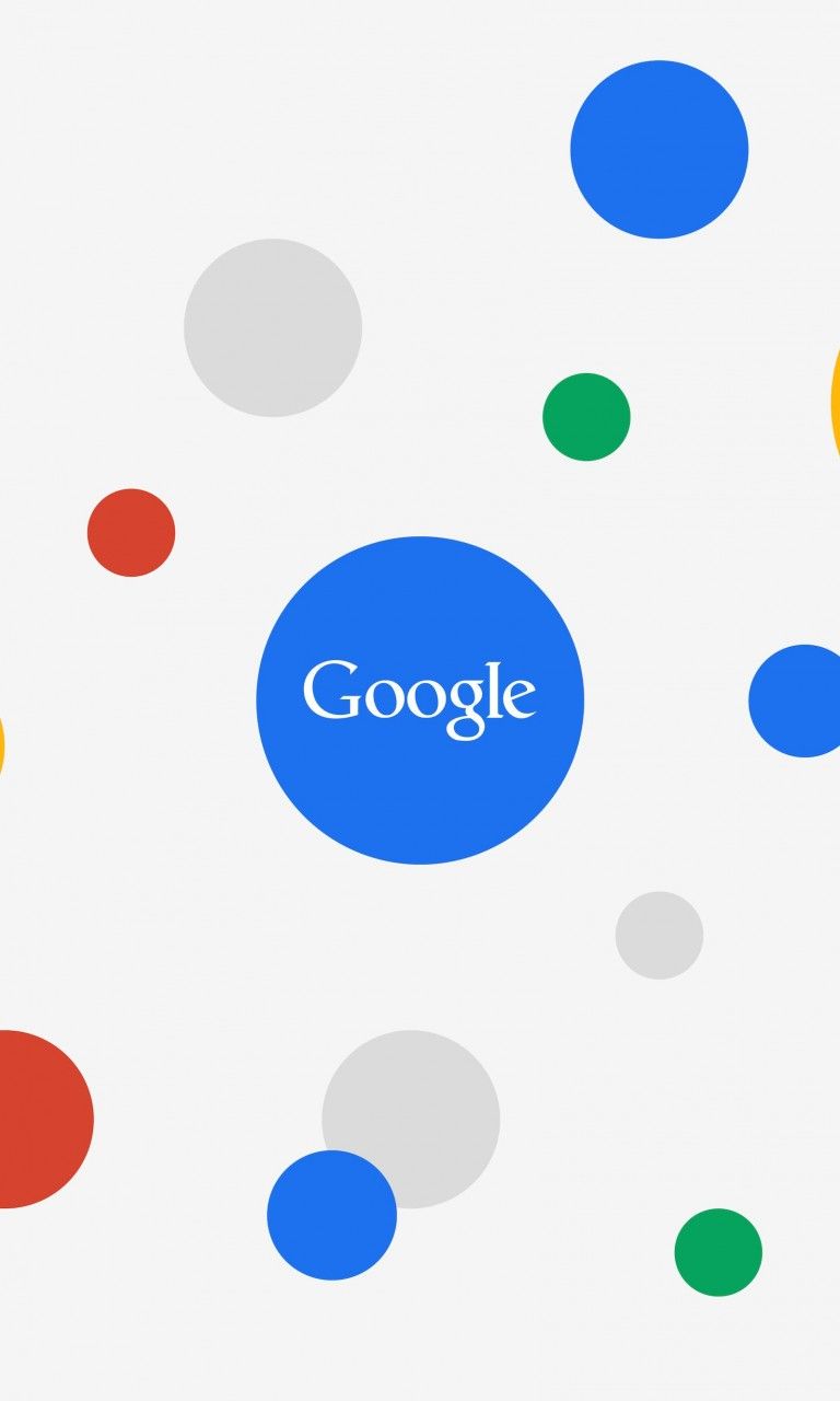 Google Circles Light Wallpaper for Google Nexus 4