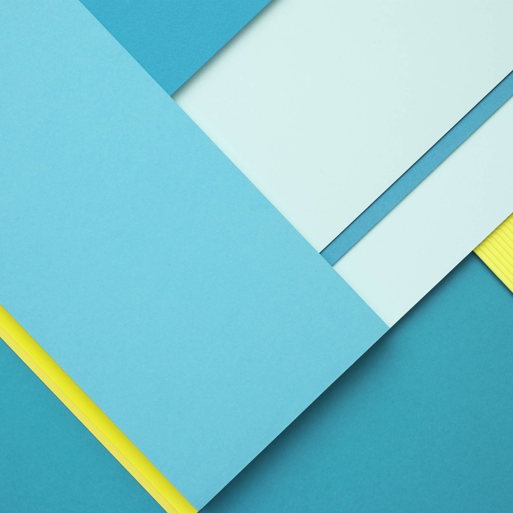 Google Material Design Wallpaper for Apple iPad