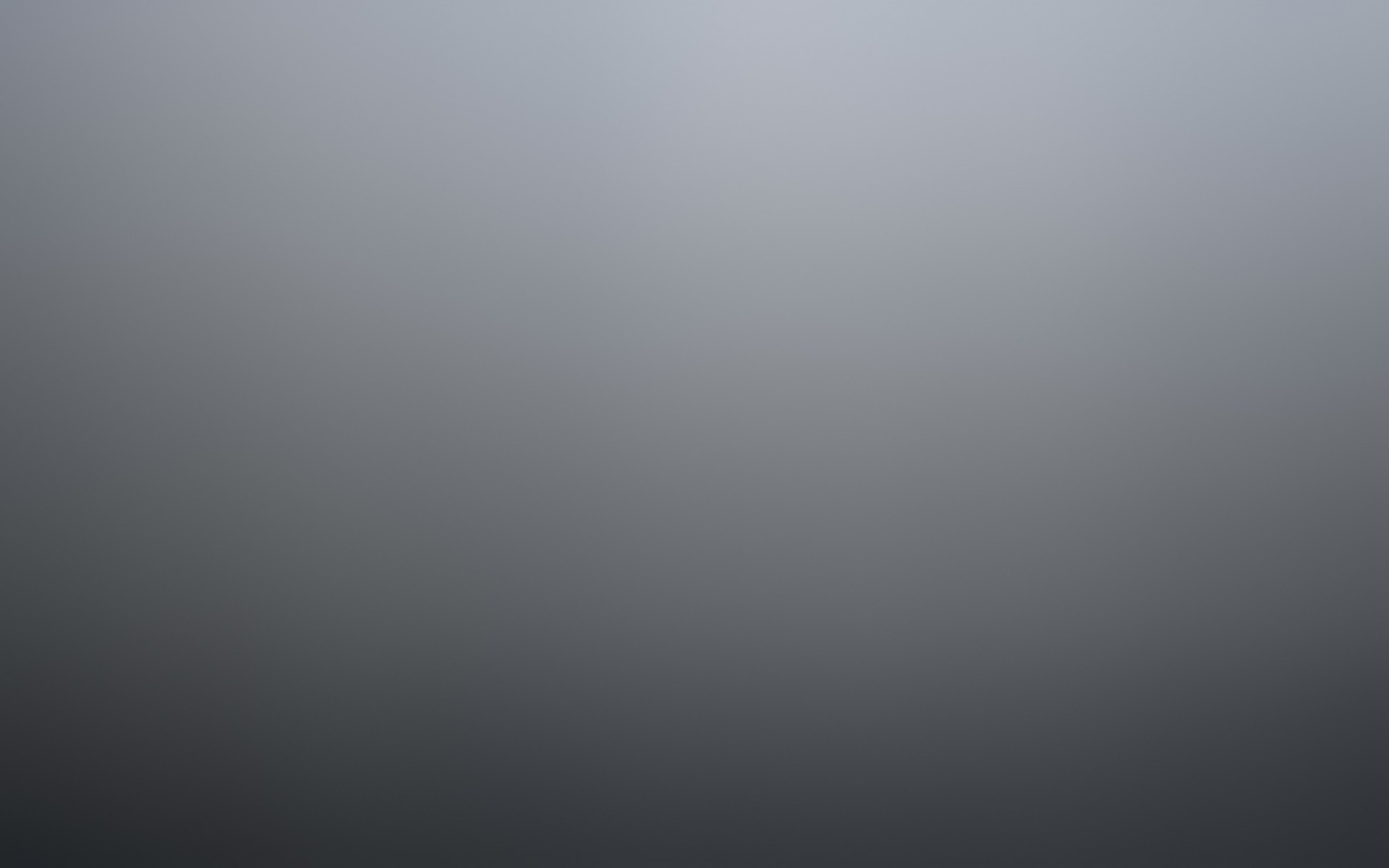 Gradient Grey Wallpaper for Desktop 1920x1200