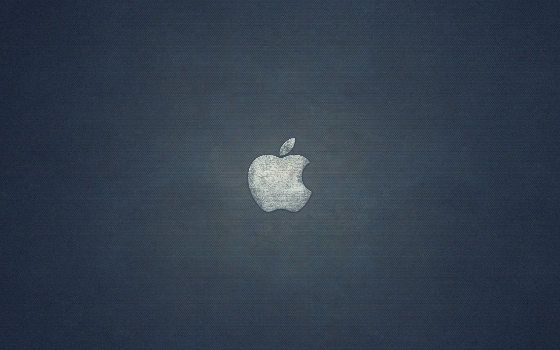 Grunge Apple Logo Wallpaper for Desktop 1920x1200