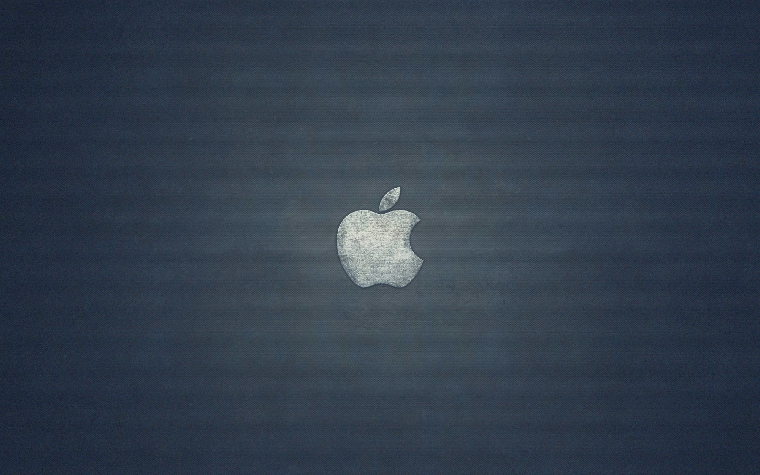 Grunge Apple Logo Wallpaper for Desktop 2560x1600