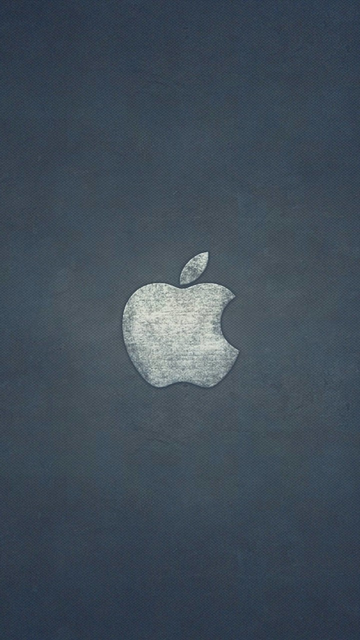 Grunge Apple Logo Wallpaper for Lenovo A6000