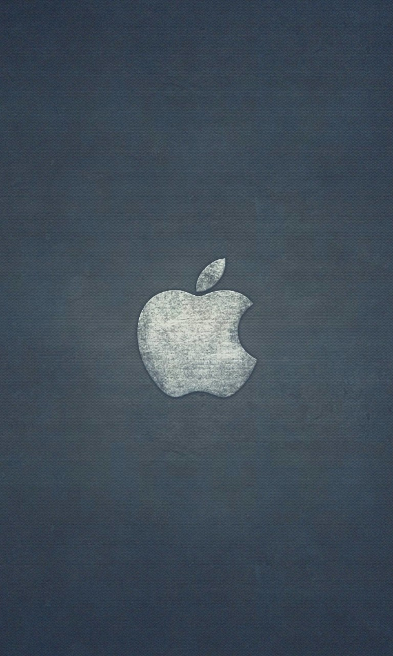 Grunge Apple Logo Wallpaper for Google Nexus 4