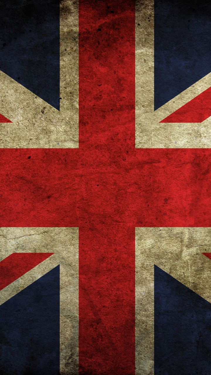 Grunge Flag Of The United Kingdom Wallpaper for HTC One mini