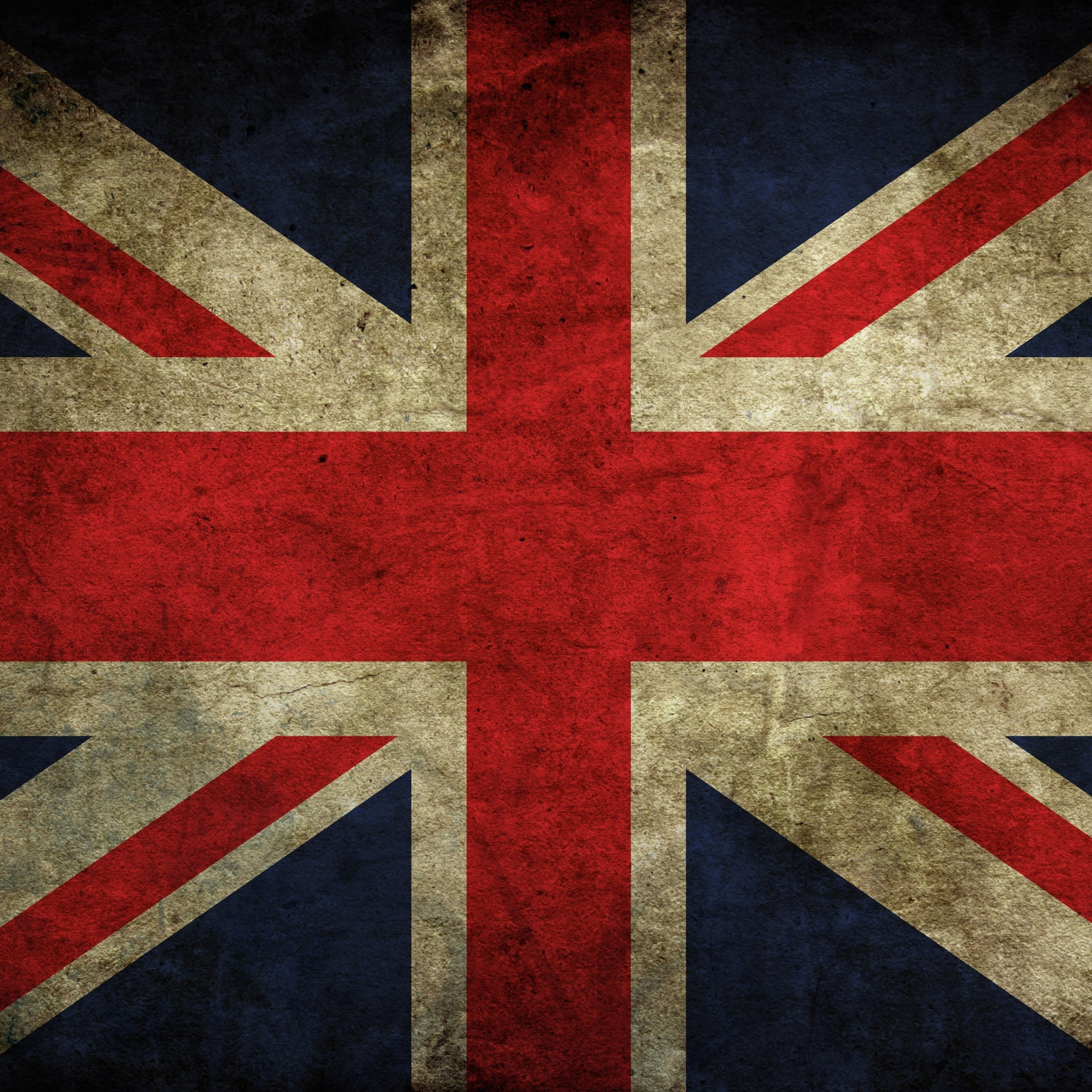 Grunge Flag Of The United Kingdom Wallpaper for Apple iPad 3