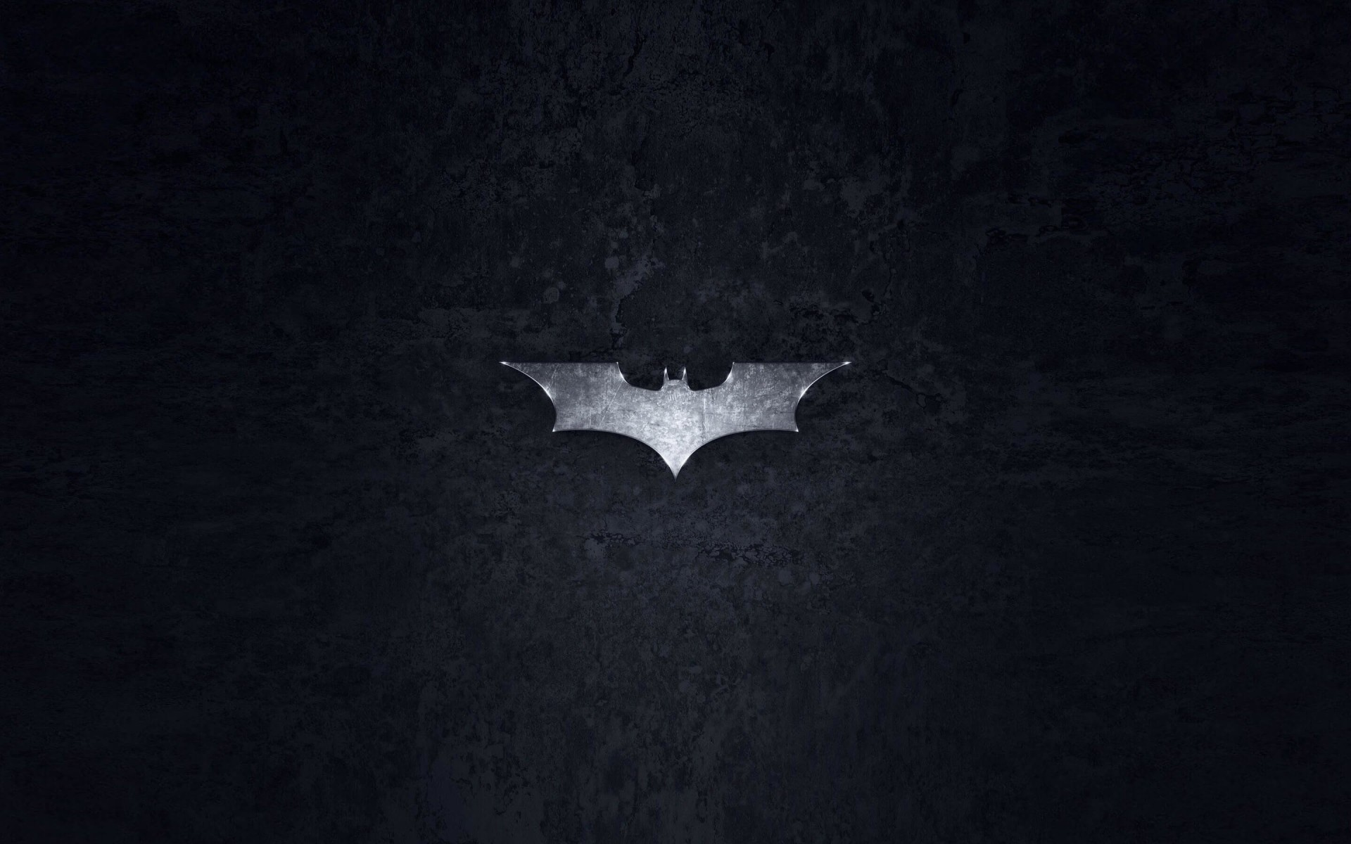 Grungy Batman Dark Knight Logo Wallpaper for Desktop 1920x1200