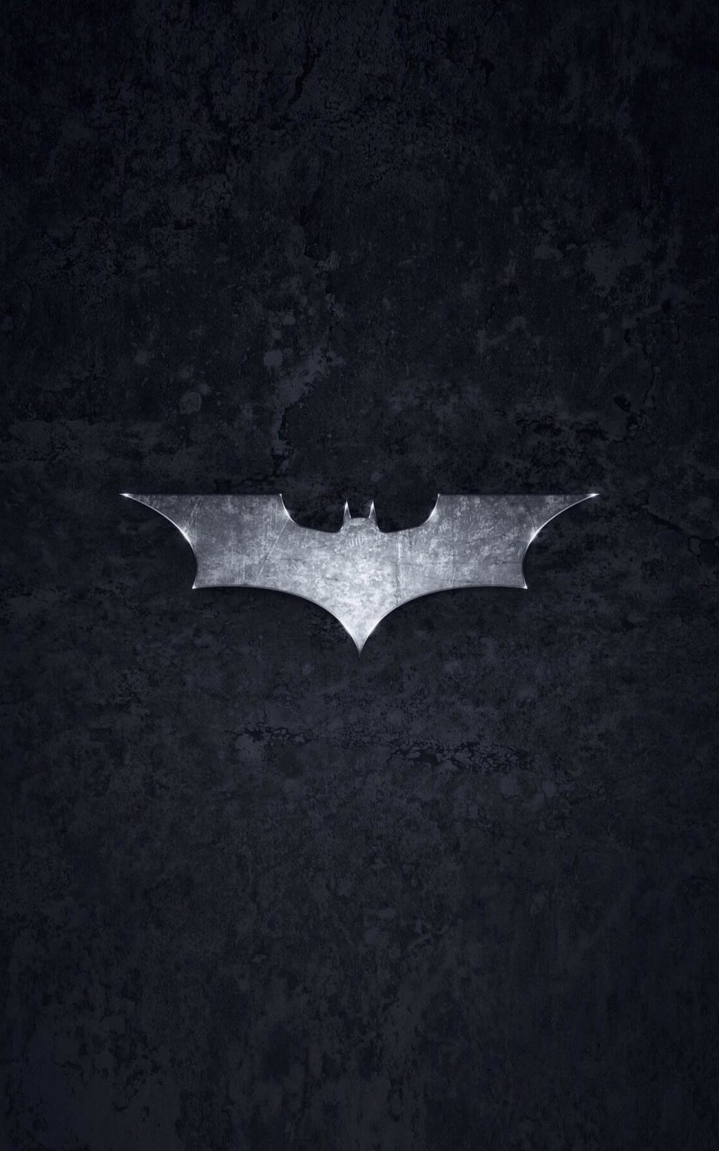 Grungy Batman Dark Knight Logo Wallpaper for Amazon Kindle Fire HD