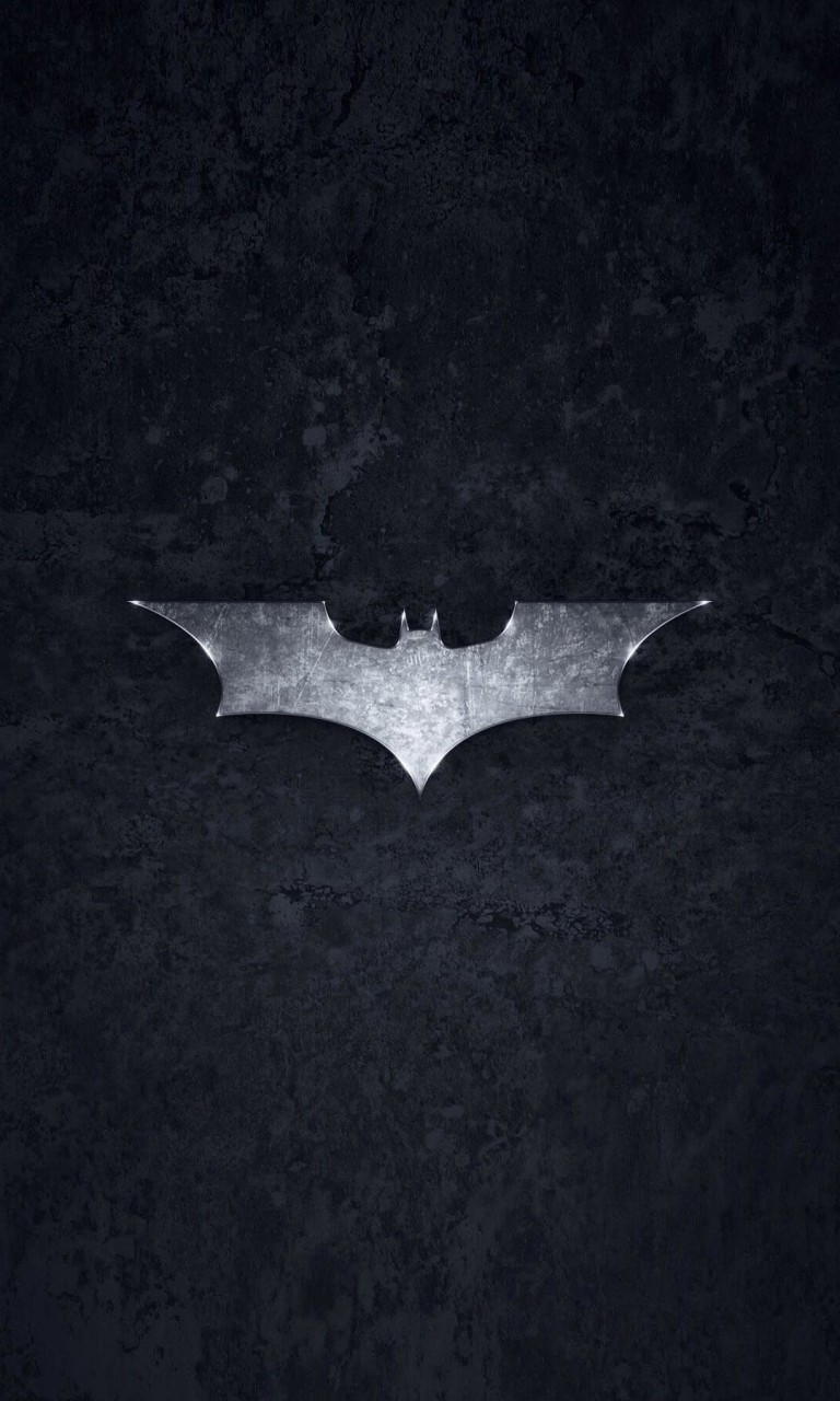 Grungy Batman Dark Knight Logo Wallpaper for Google Nexus 4