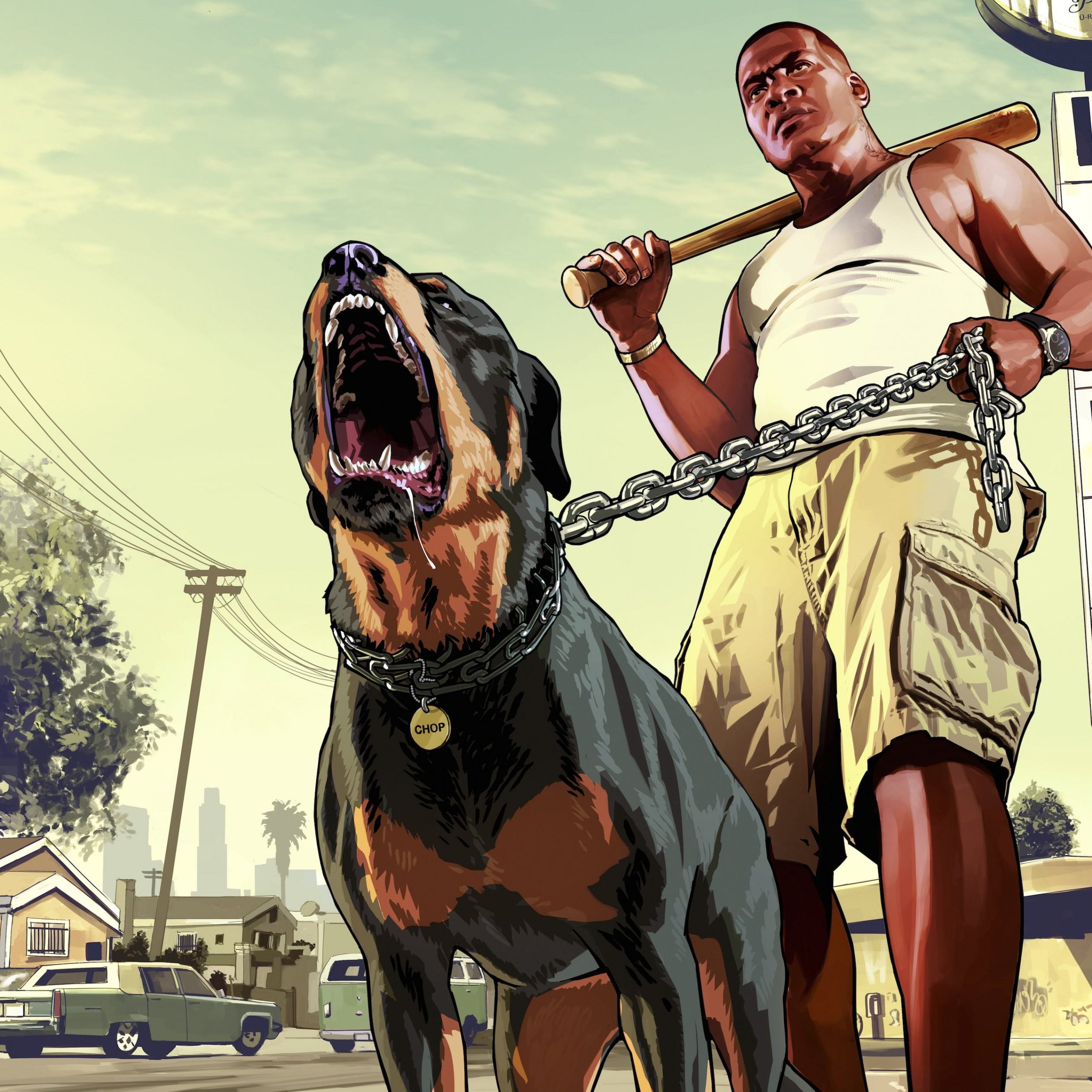 GTA 5 : Franklin Clinton Wallpaper for Apple iPad Air