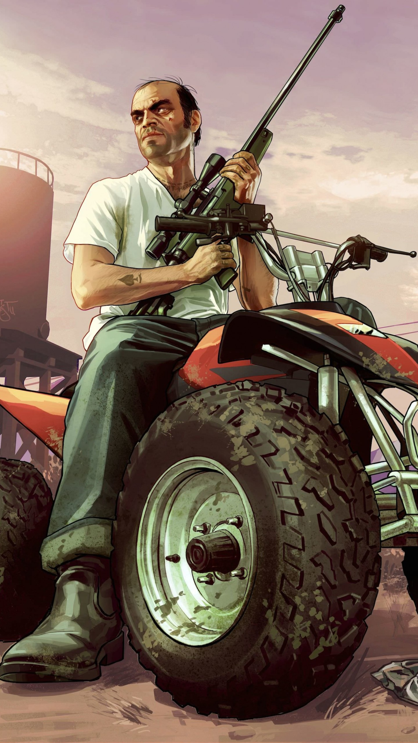 GTA 5 : Trevor Philips Wallpaper for SAMSUNG Galaxy Note 4