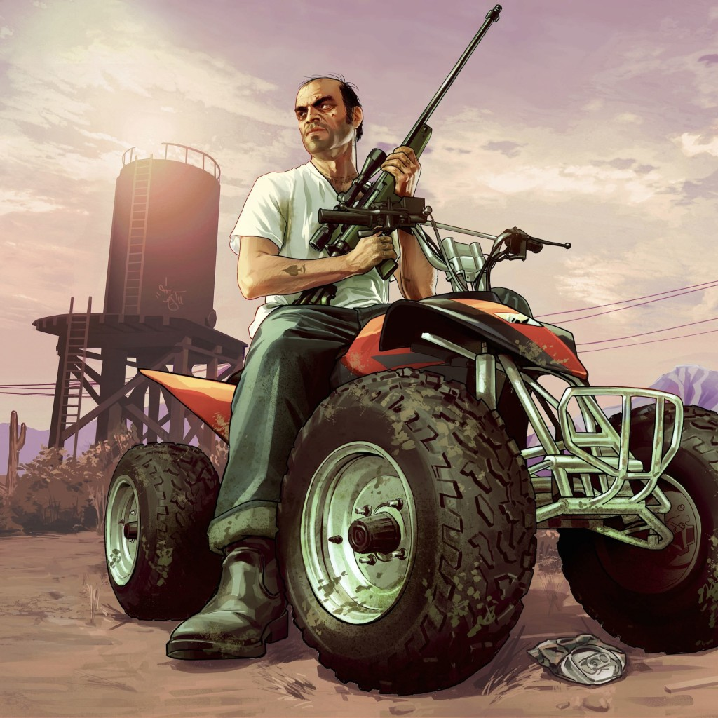 GTA 5 : Trevor Philips Wallpaper for Apple iPad 2