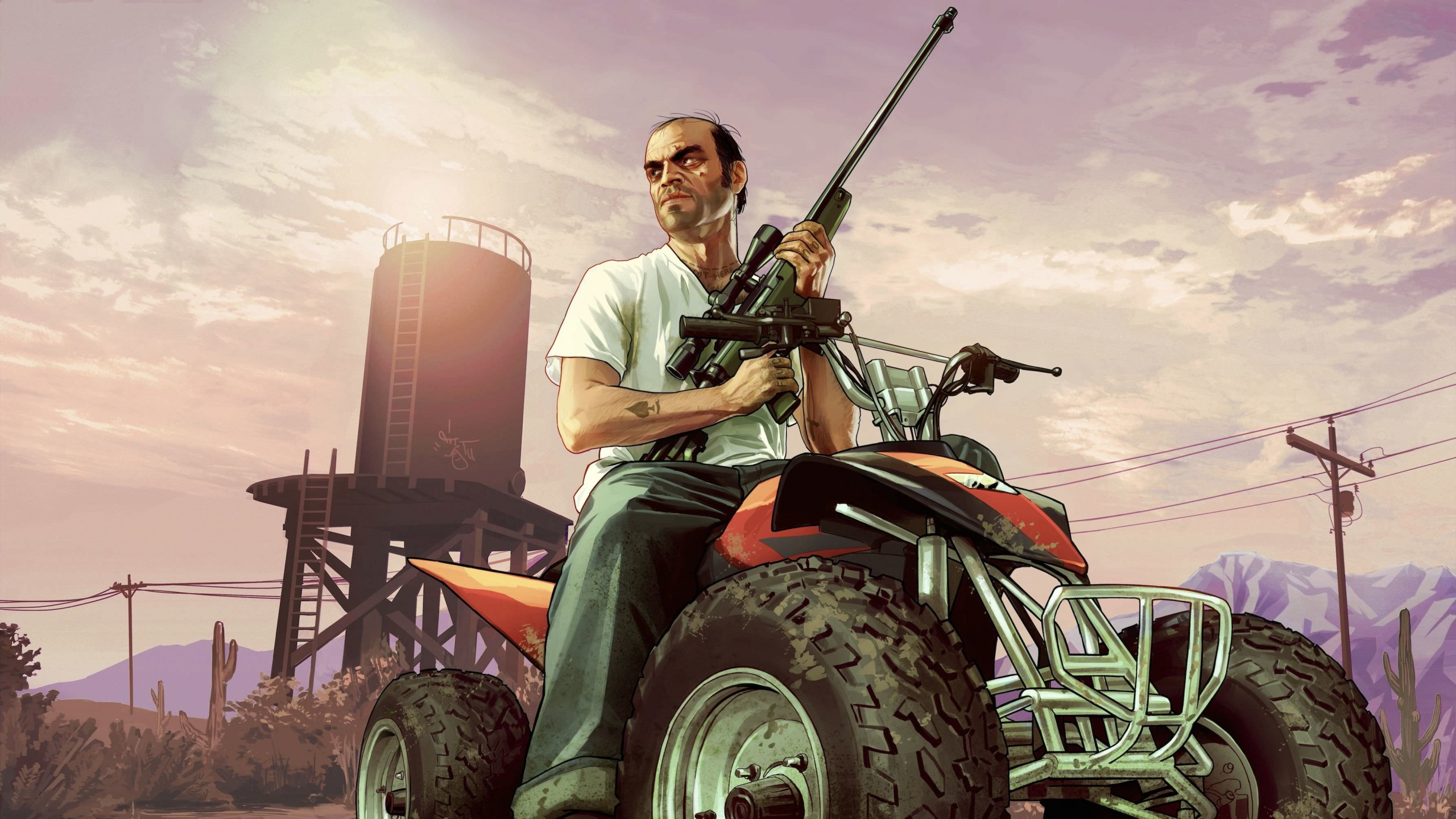 GTA 5 : Trevor Philips Wallpaper for Social Media YouTube Channel Art