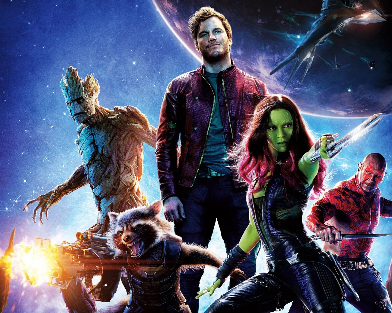 Guardians of the Galaxy Wallpaper for Desktop 1280x1024
