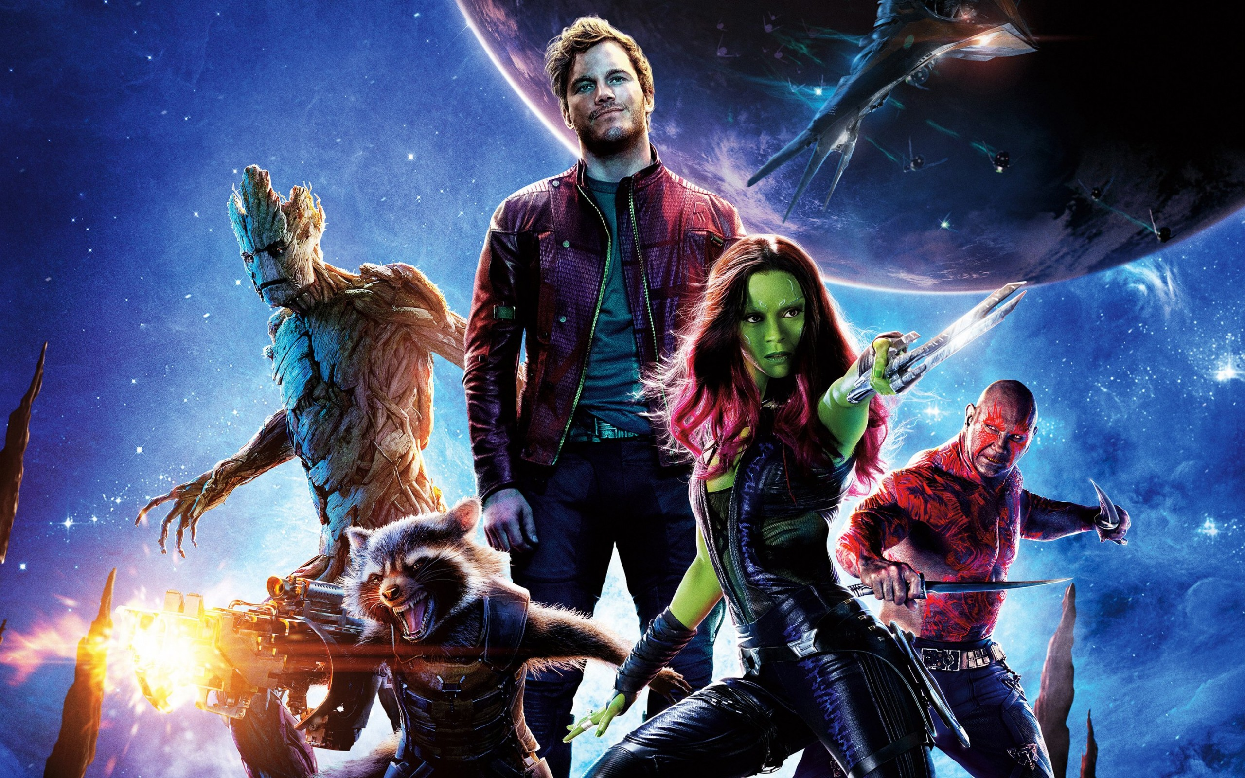Guardians of the Galaxy Wallpaper for Desktop 2560x1600