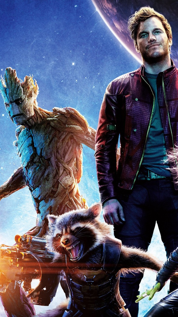 Guardians of the Galaxy Wallpaper for HTC One mini