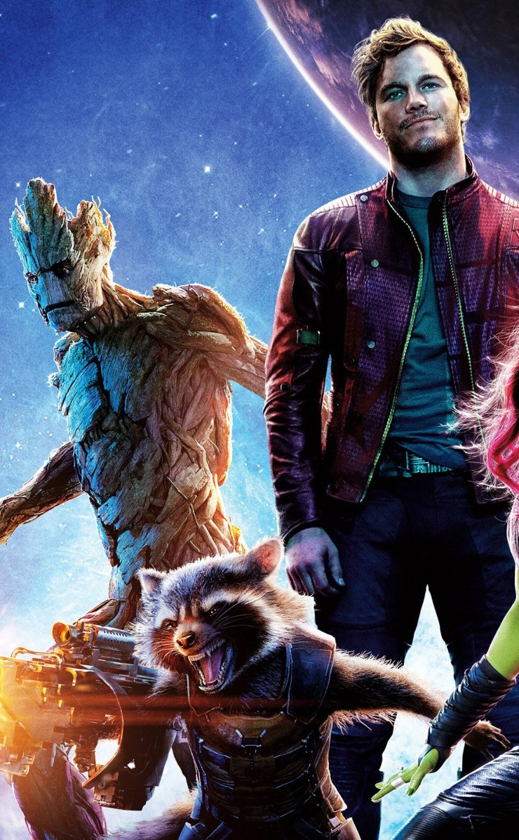 Guardians of the Galaxy Wallpaper for Apple iPhone 4 / 4s