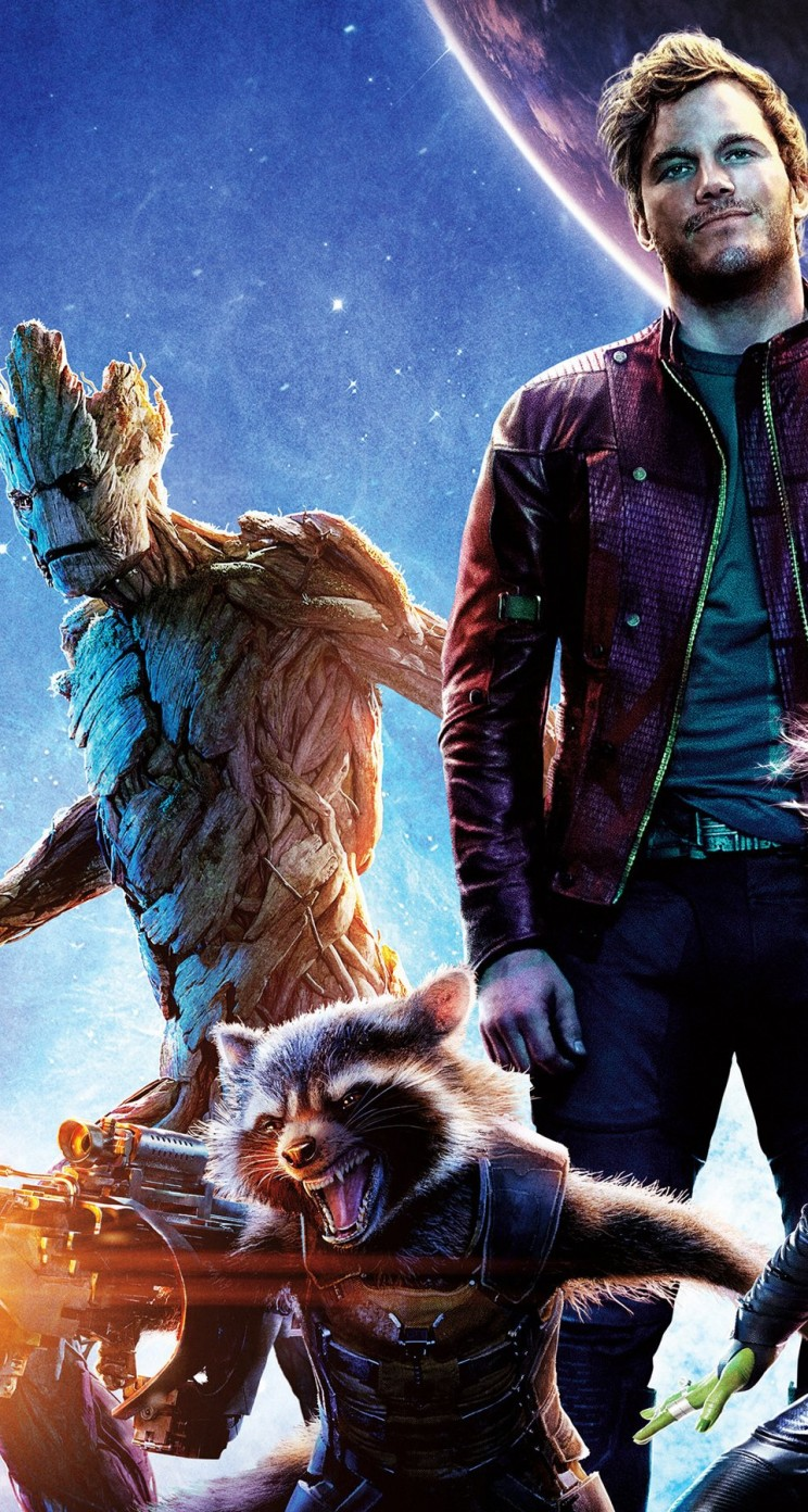 Guardians of the Galaxy Wallpaper for Apple iPhone 5 / 5s