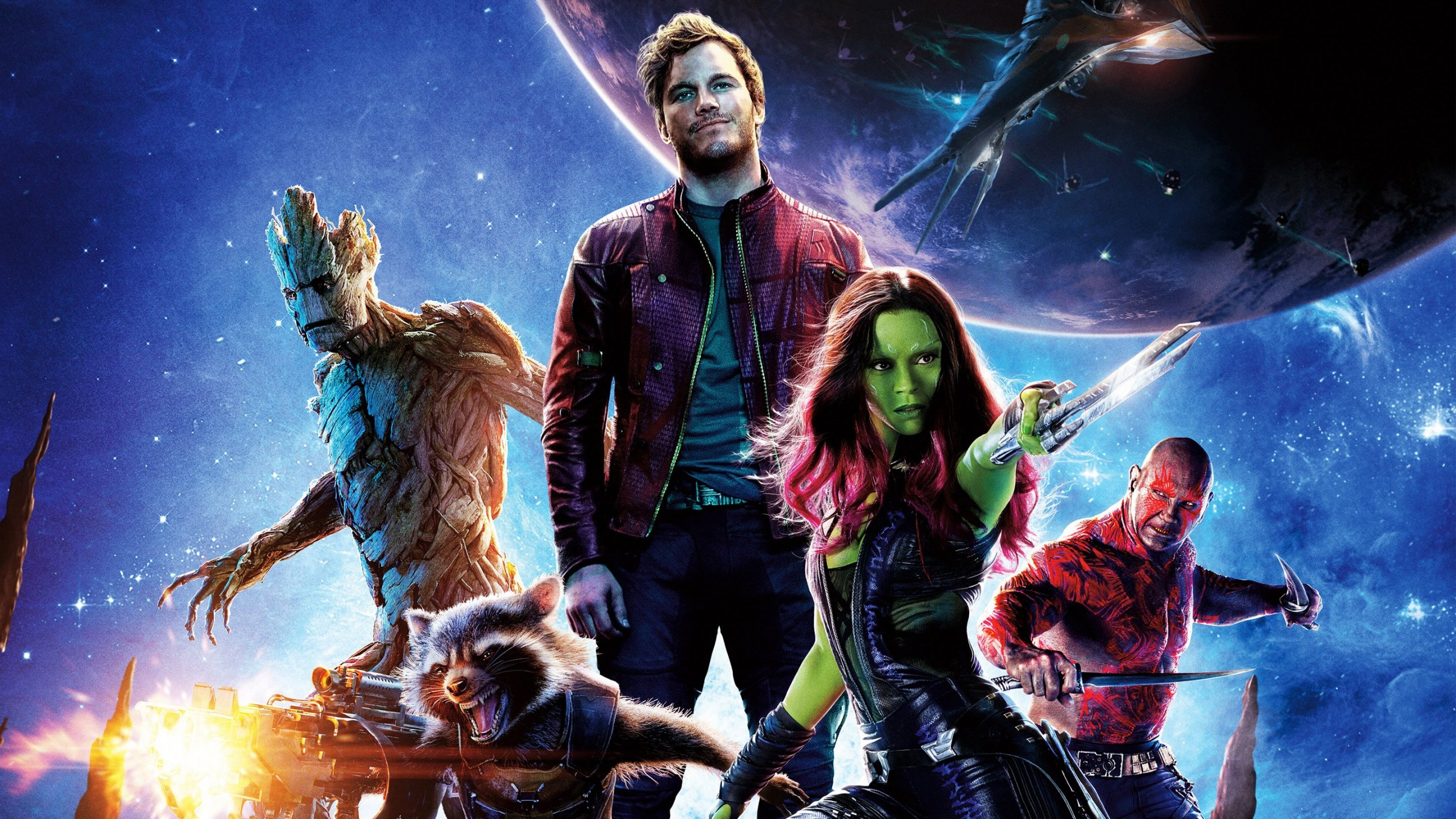 Guardians of the Galaxy Wallpaper for Social Media YouTube Channel Art