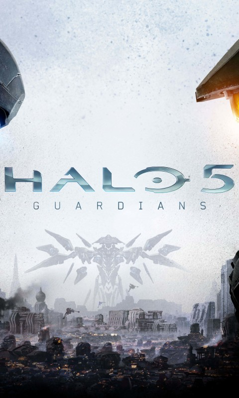 Halo 5: Guardians Wallpaper for HTC Desire HD