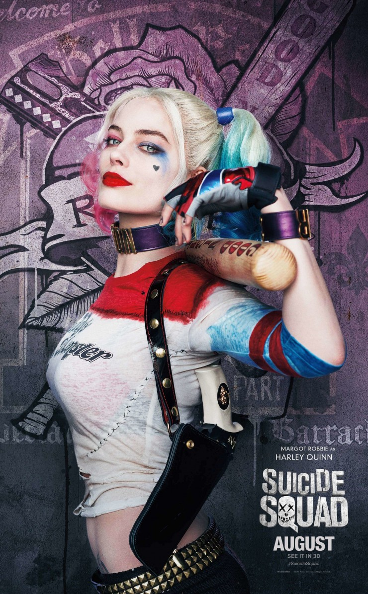 Harley Quinn - Suicide Squad Wallpaper for Apple iPhone 4 / 4s