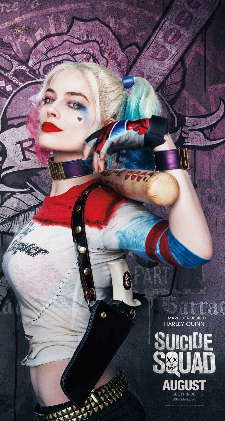 Harley Quinn - Suicide Squad Wallpaper for Apple iPhone 5 / 5s