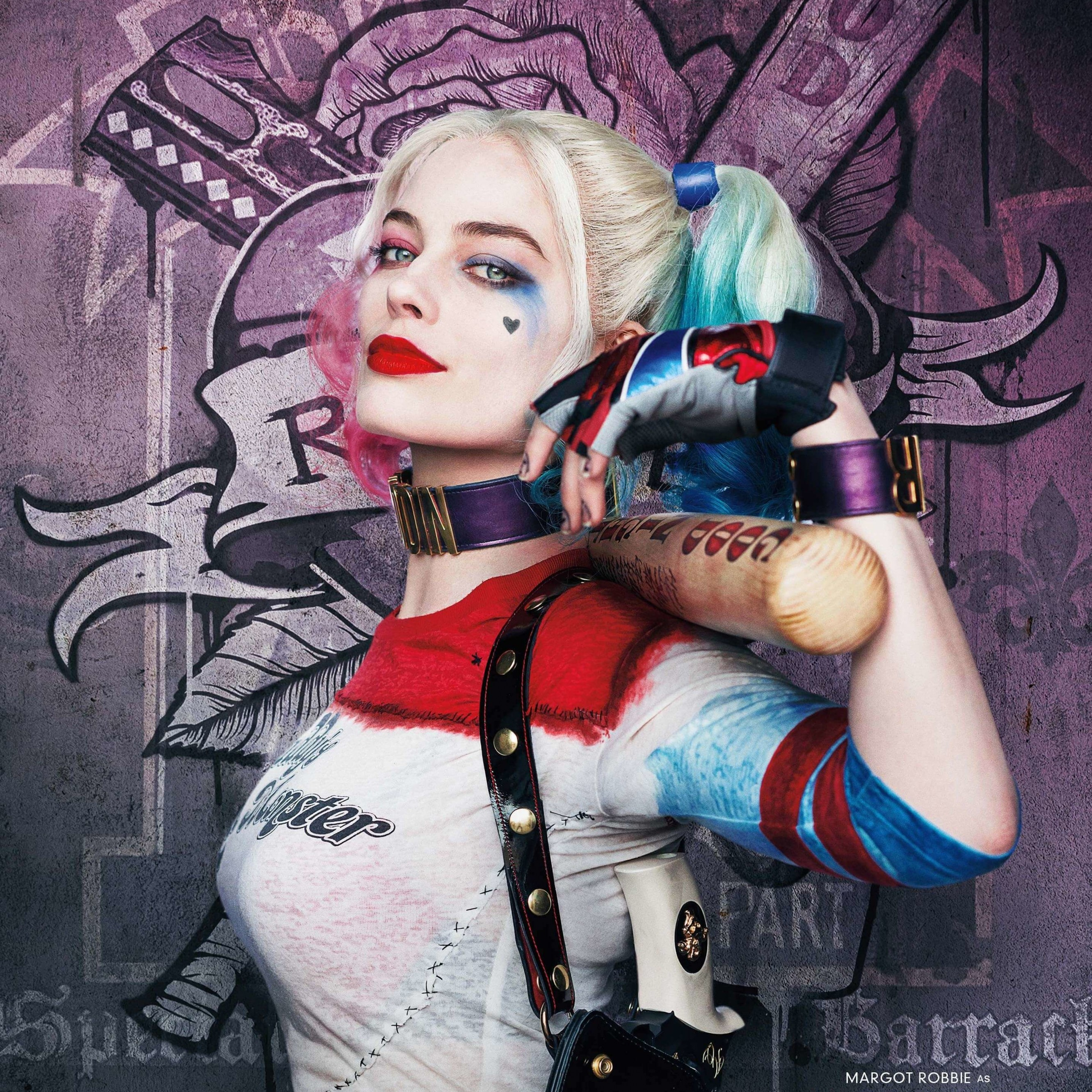 Harley Quinn - Suicide Squad Wallpaper for Apple iPhone 6 Plus