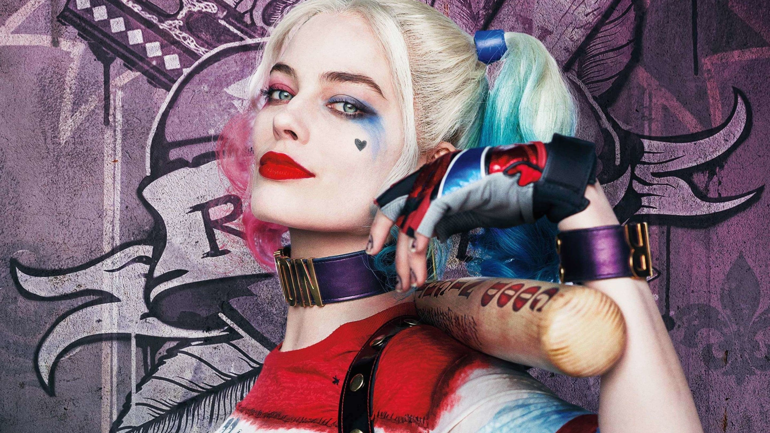 Harley Quinn - Suicide Squad Wallpaper for Social Media YouTube Channel Art