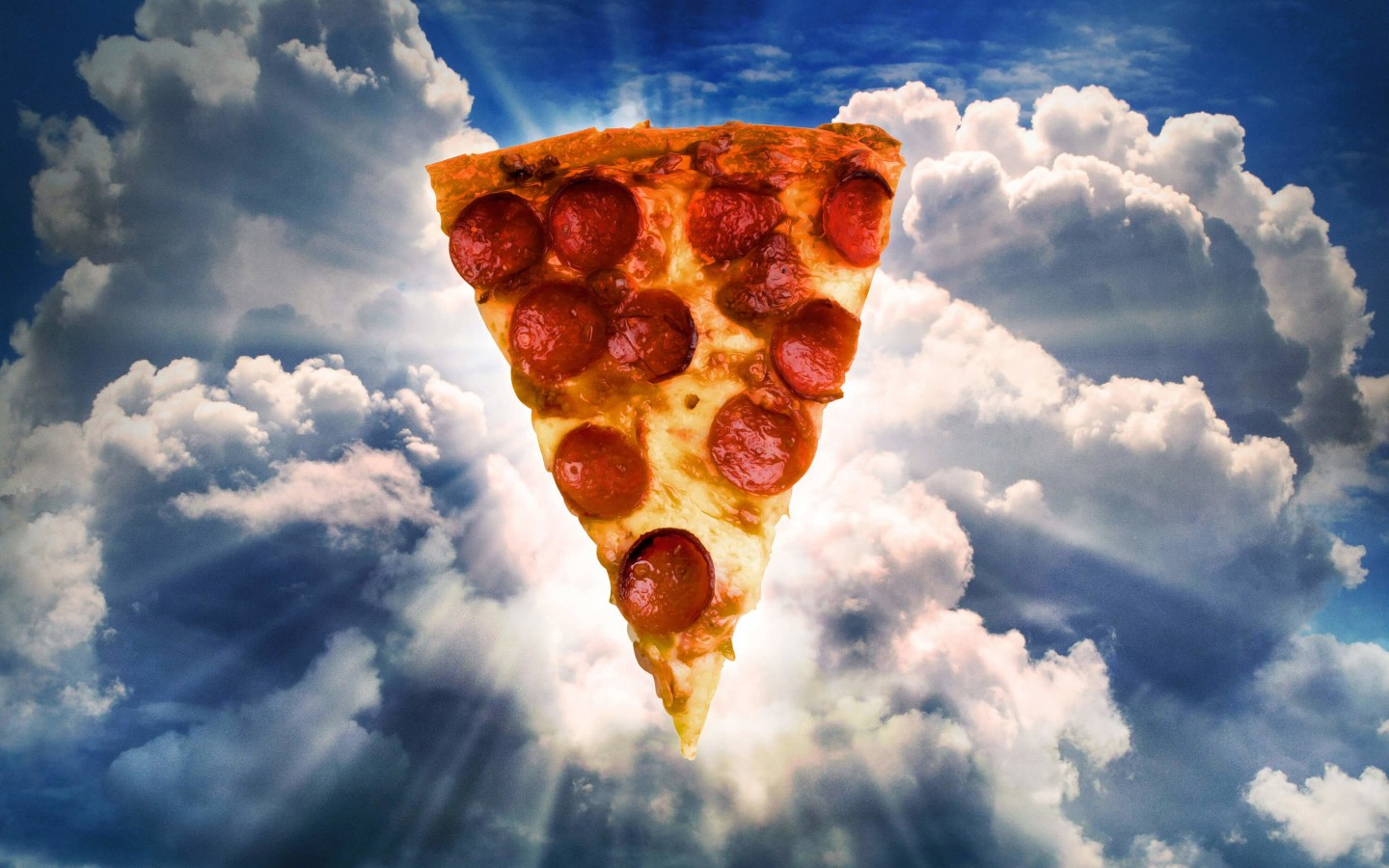 Holy Pizza Wallpaper for Desktop 1440x900