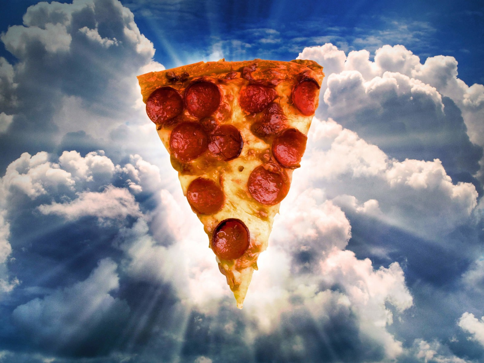 Holy Pizza Wallpaper for Desktop 1600x1200
