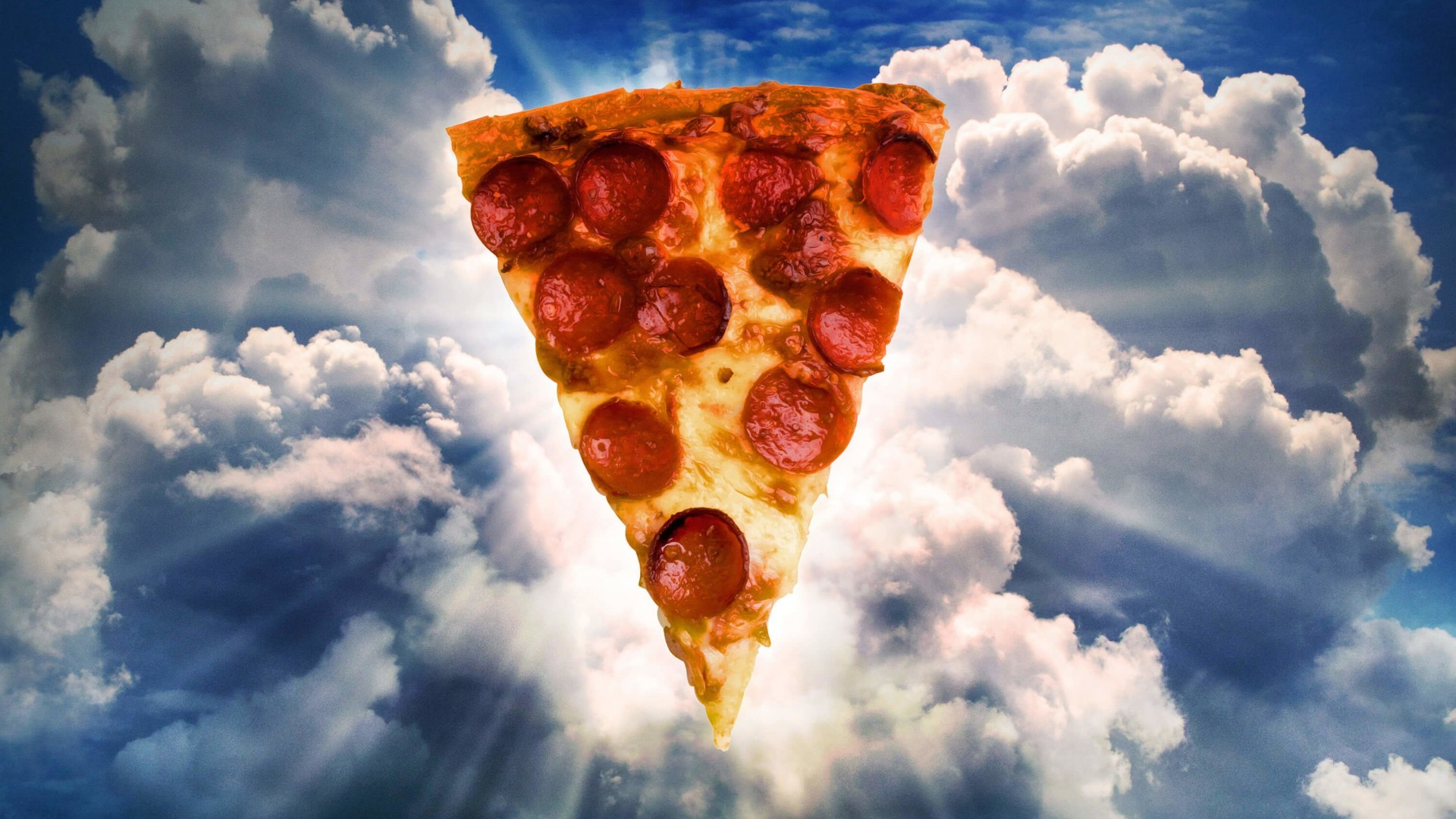 Holy Pizza Wallpaper for Desktop 1920x1080
