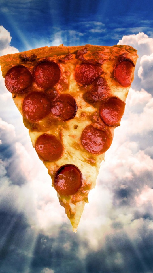 Holy Pizza Wallpaper for SAMSUNG Galaxy S4 Mini