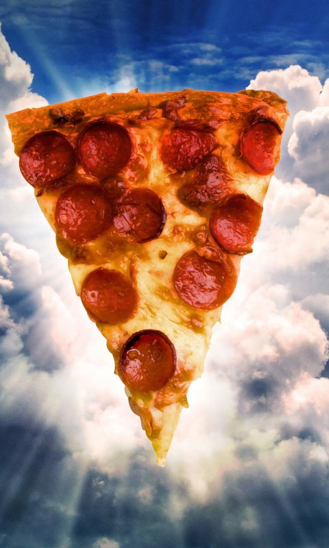 Holy Pizza Wallpaper for HTC Desire HD