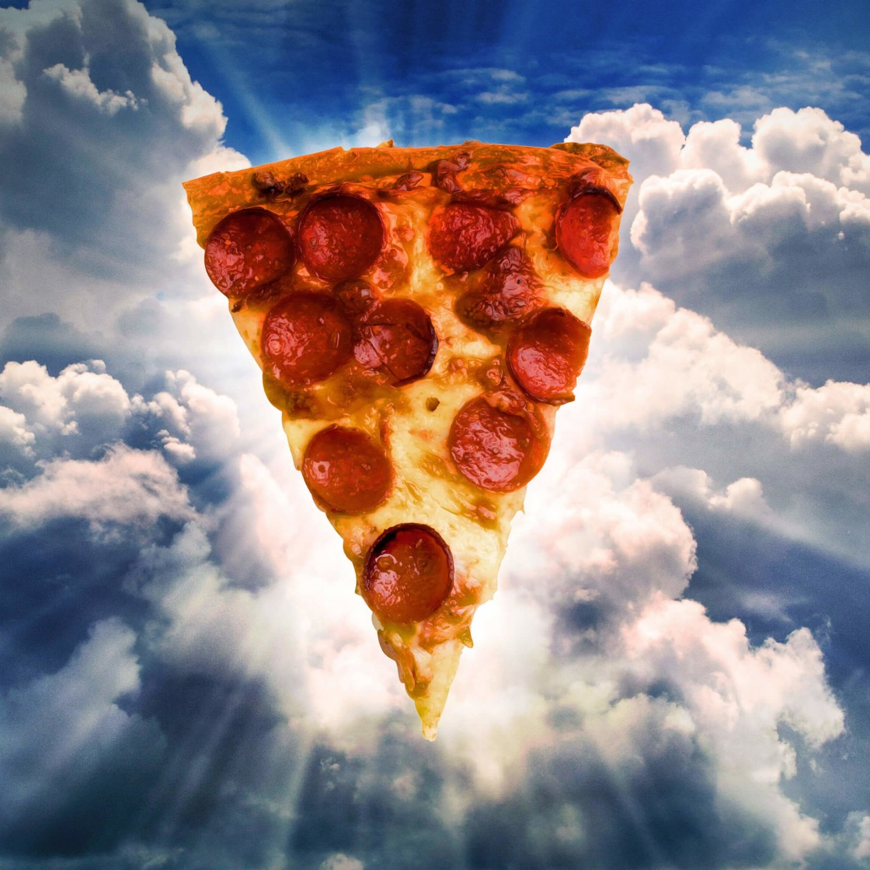 Holy Pizza Wallpaper for Apple iPad mini
