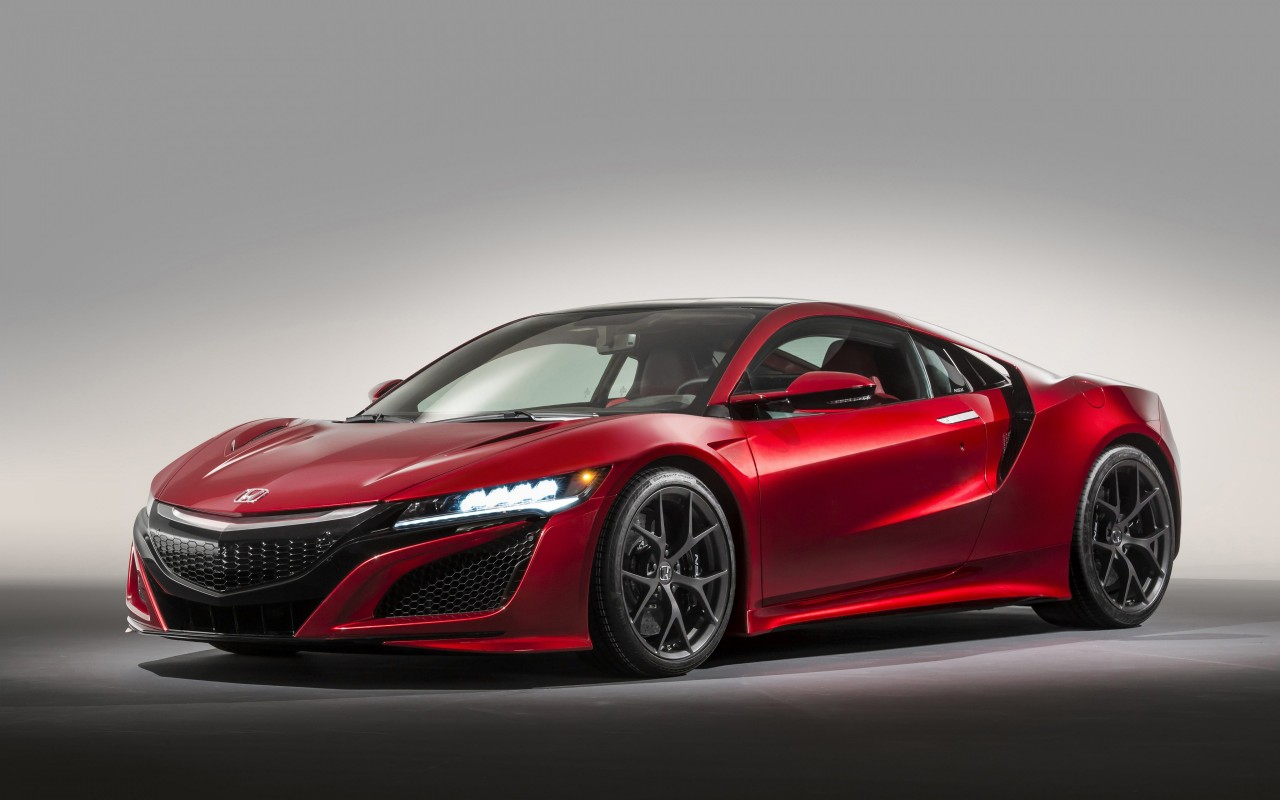 Honda NSX 2015 Wallpaper for Desktop 1280x800