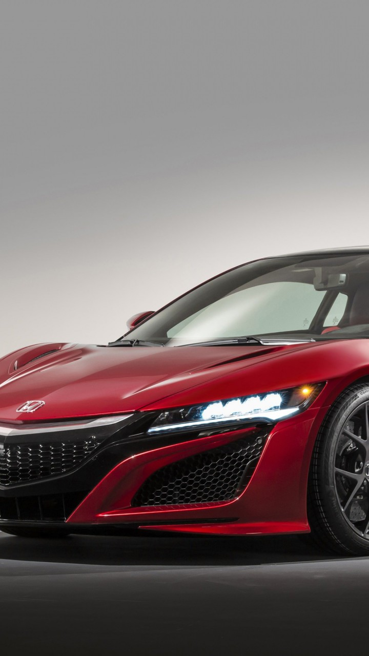 Honda NSX 2015 Wallpaper for Motorola Droid Razr HD