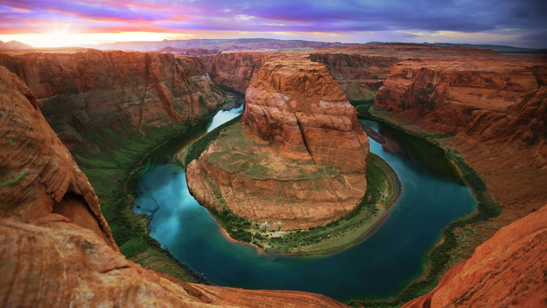 Horseshoe Bend Wallpaper for Social Media Google Plus Cover