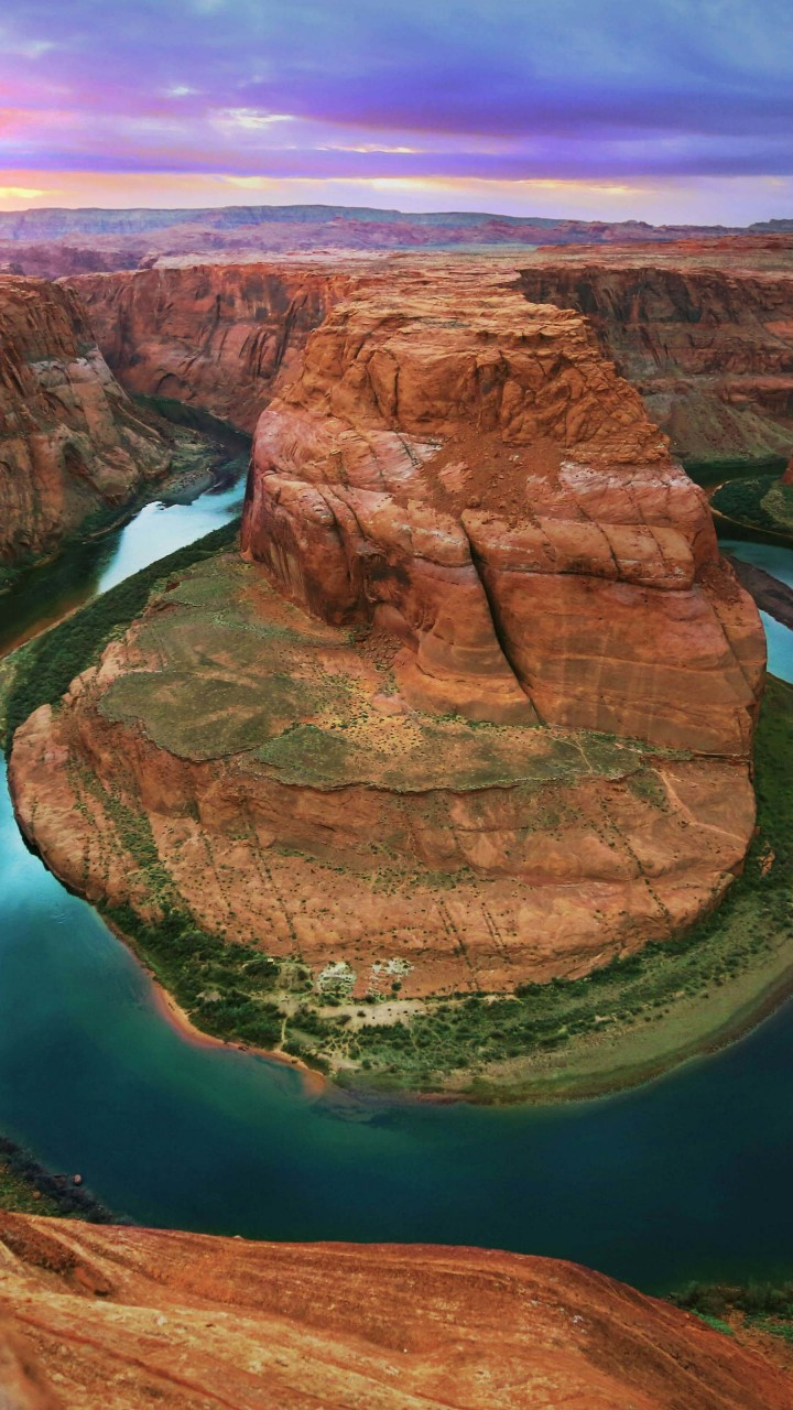 Horseshoe Bend Wallpaper for HTC One X