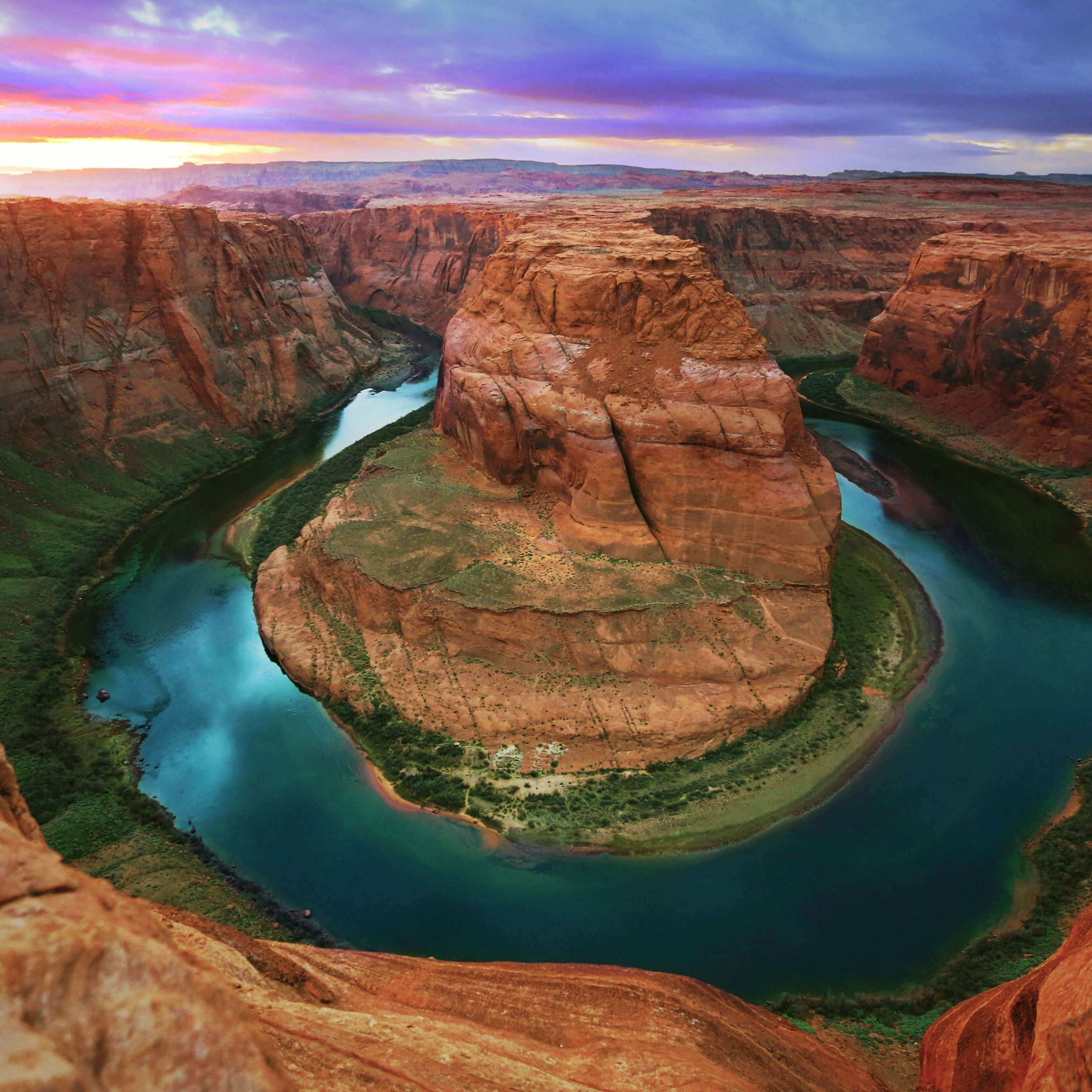 Horseshoe Bend Wallpaper for Apple iPhone 6 Plus