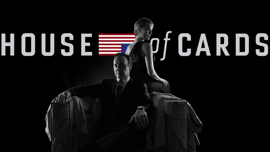 House of Cards - Black & White Wallpaper for Social Media Google Plus Cover