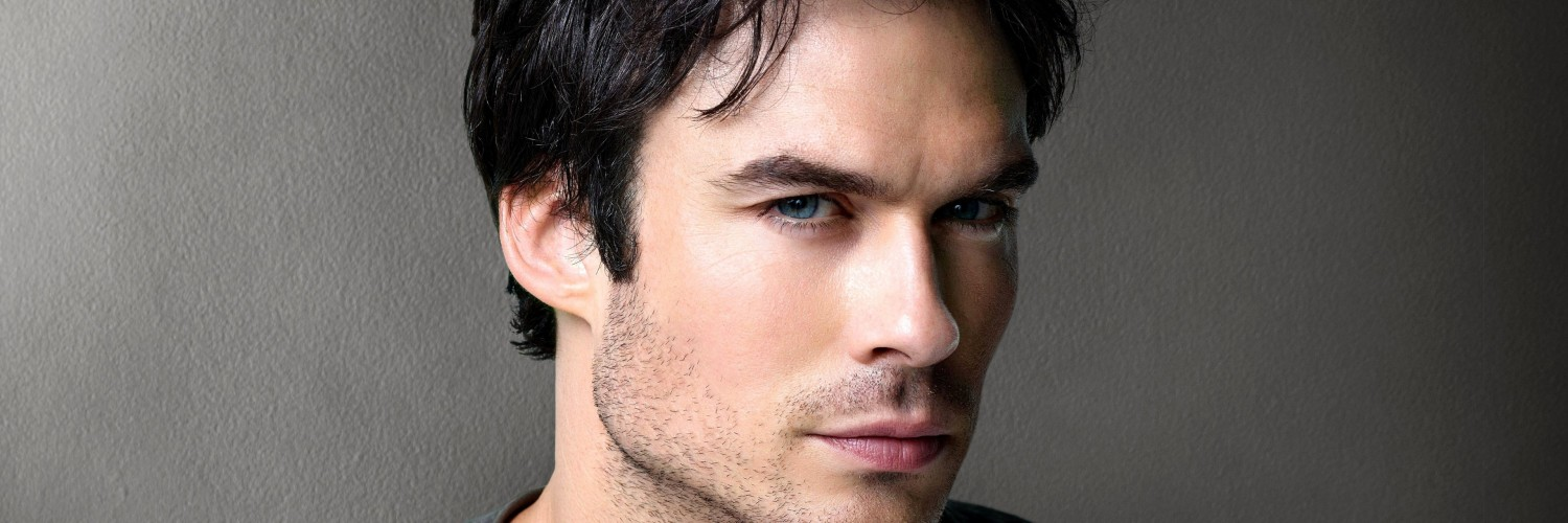Ian Somerhalder Wallpaper for Social Media Twitter Header