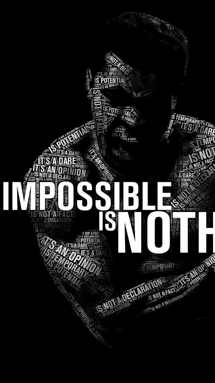 Impossible Is Nothing - Muhammad Ali Wallpaper for SAMSUNG Galaxy S5 Mini