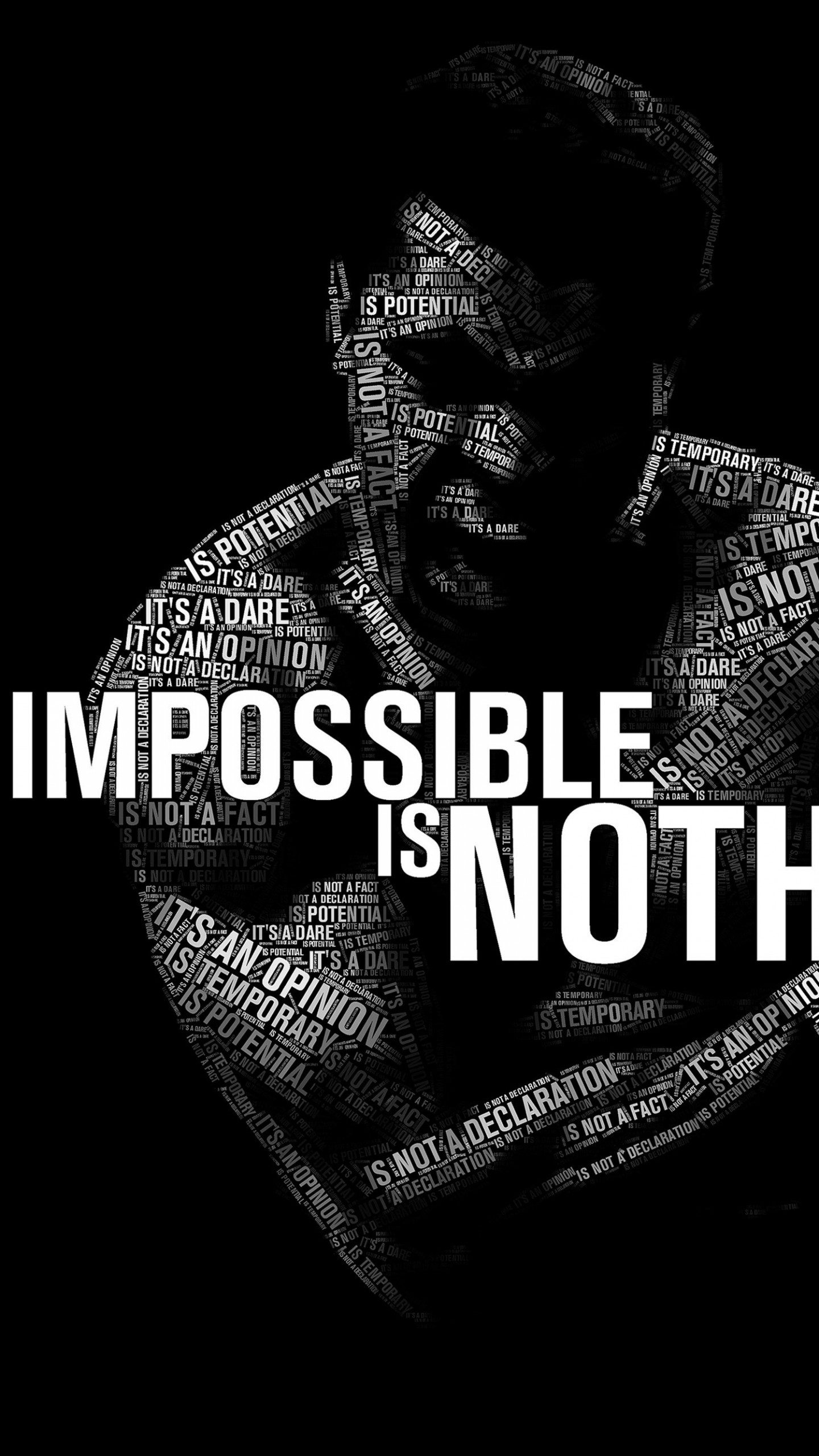 Impossible Is Nothing - Muhammad Ali Wallpaper for Google Nexus 6