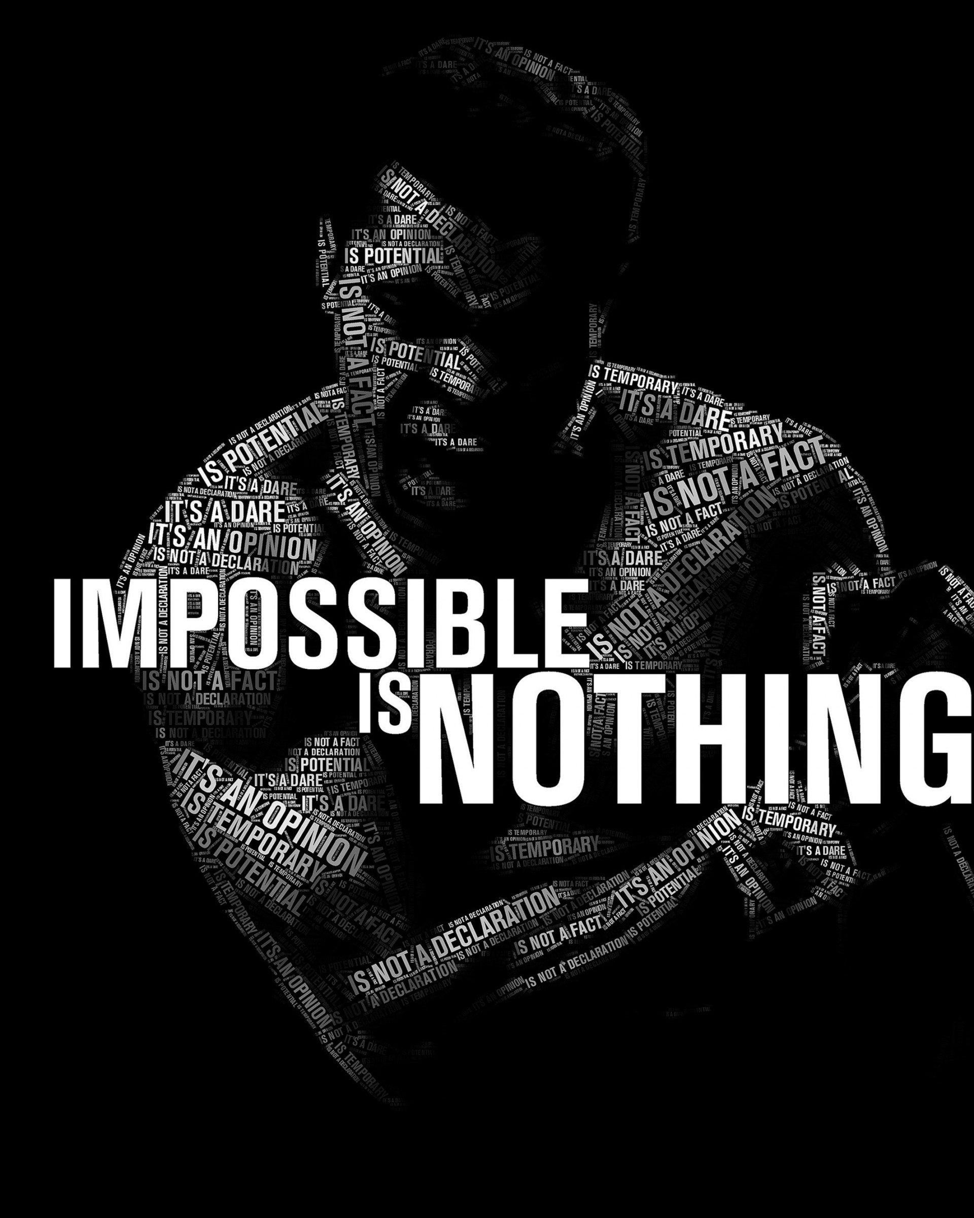 Impossible Is Nothing - Muhammad Ali Wallpaper for Google Nexus 7