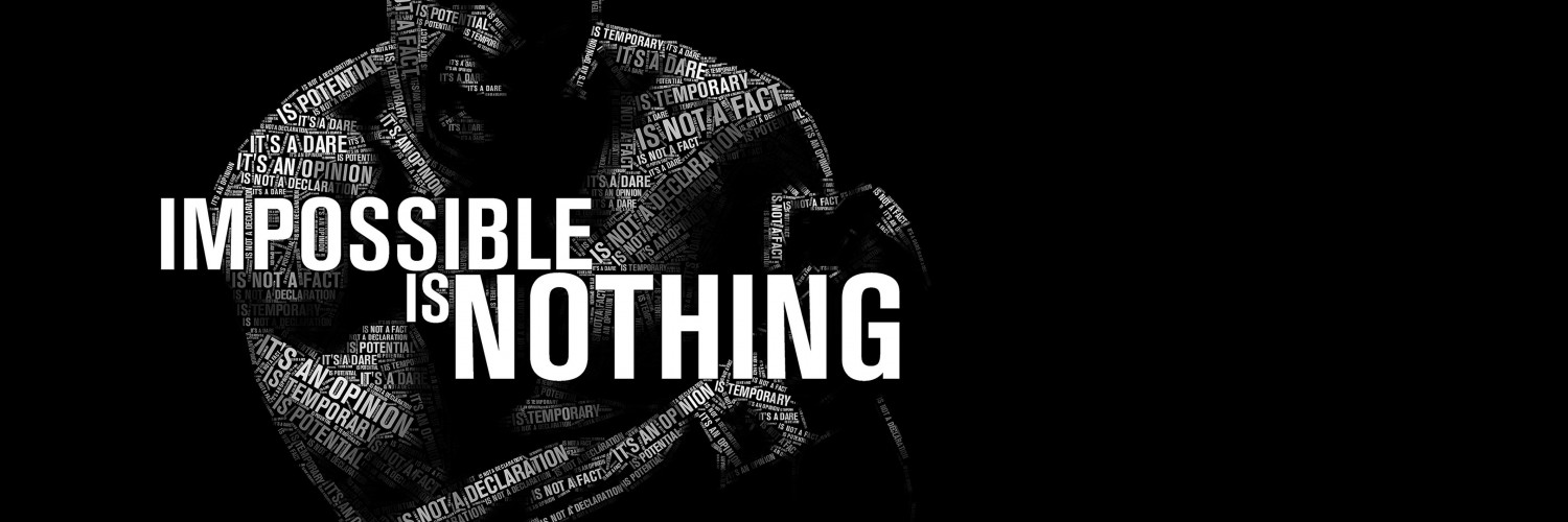 Impossible Is Nothing - Muhammad Ali Wallpaper for Social Media Twitter Header