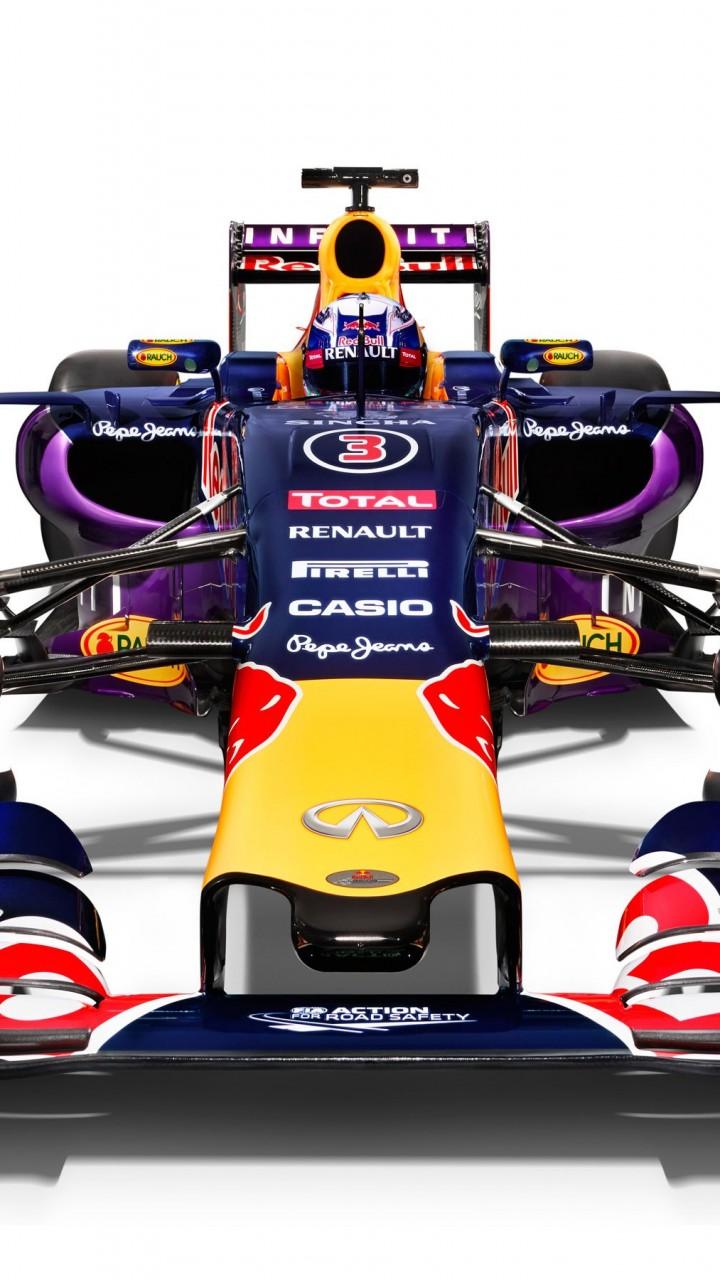 Infiniti Red Bull Racing RB11 2015 Formula 1 Car Wallpaper for HTC One X