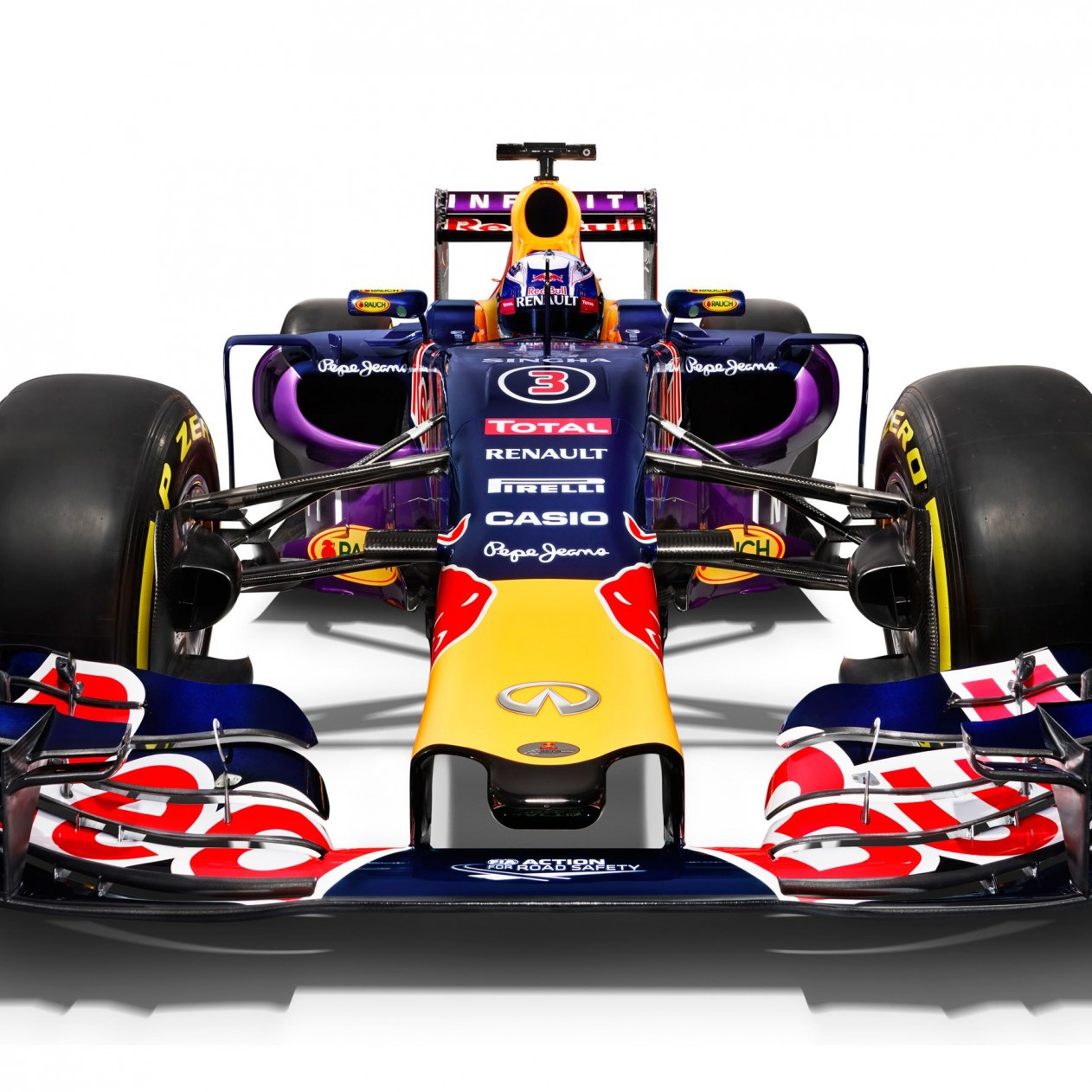 Infiniti Red Bull Racing RB11 2015 Formula 1 Car Wallpaper for Apple iPad mini